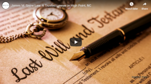 James M. Snow Law: An Experienced Lawyer You Can Trust in High Point, NC